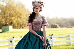 katherine-pierce-southern-belle-dress-hat
